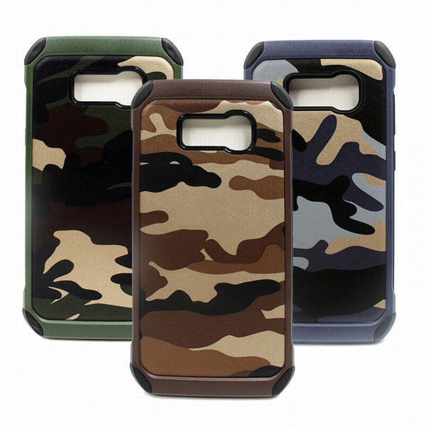 Galaxy S8, S8 Plus Camouflage Shockproof Armor Case