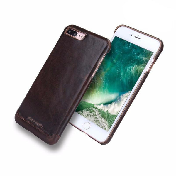 iPhone 7 Plus Genuine Leather Coated Case