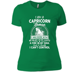 I Am A Capricorn Woman Funny Capricorn Zodiac Shirts shirt