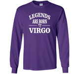 Legends are Born Virgo Tshirt Horoscope Zodiac August Sept t-shirt