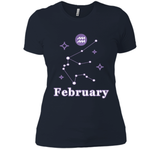 Awesome Aquarius Zodiac Shirt - February Birthday Shirt cool shirt