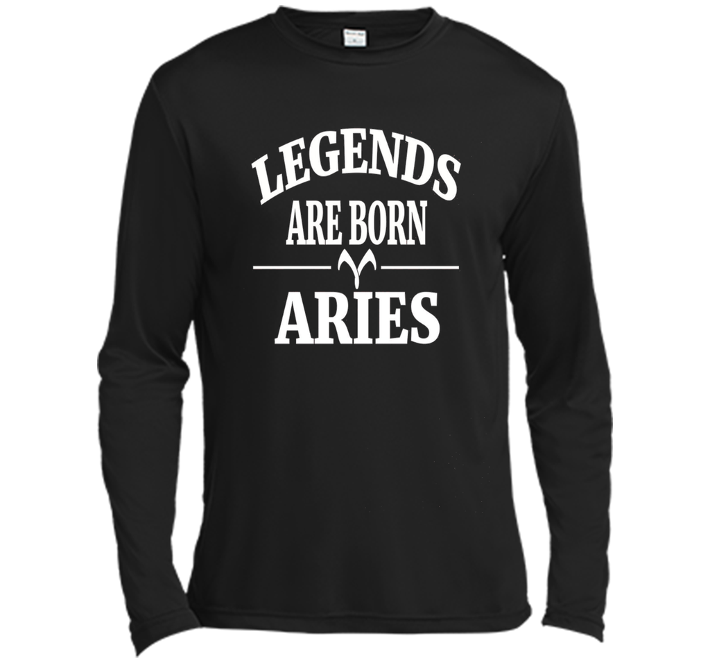 Legends are Born Aries Tshirt Horoscope Zodiac March April cool shirt