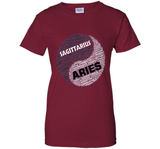 Zodiac Shirt for Men & Women Sagittarius and Aries T-shirt cool shirt