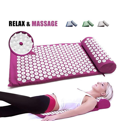 FlexRegen™ - ASANA Accupressure Massage Mat (Pillow Included) FlexRegen