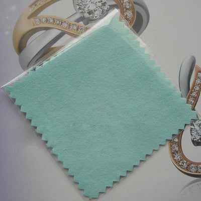 Silver & Gold Jewelry Polishing Cloth - 10 Pcs