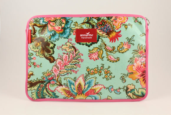Blue Floral Tablet Sleeve