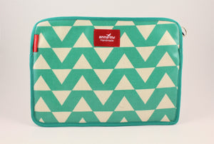 Green Zig Zag Tablet Sleeve
