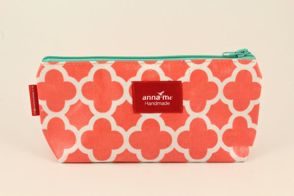 Coral Makeup Bag - Small