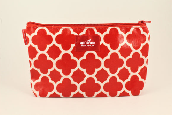 Red Makeup Bag - Large