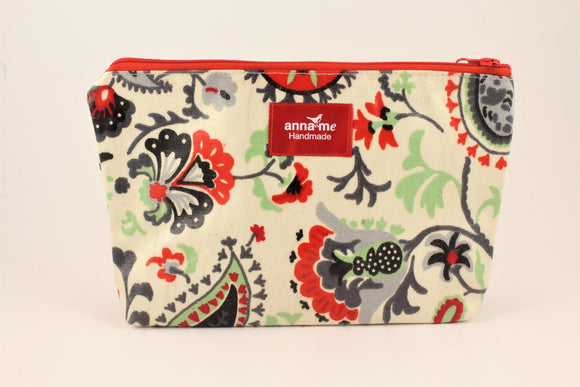 Floral Medley Makeup Bag - Large