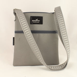 Ripstop Grey Handbag