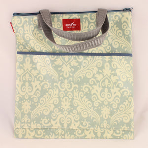 Faded Grey Library Bag