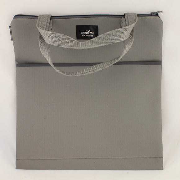 Ripstop Grey Library Bag