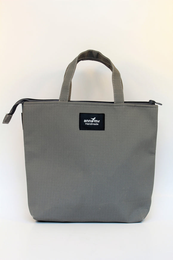 Ripstop Grey Lunch Bag