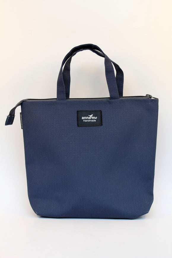 Ripstop Navy Lunch Bag