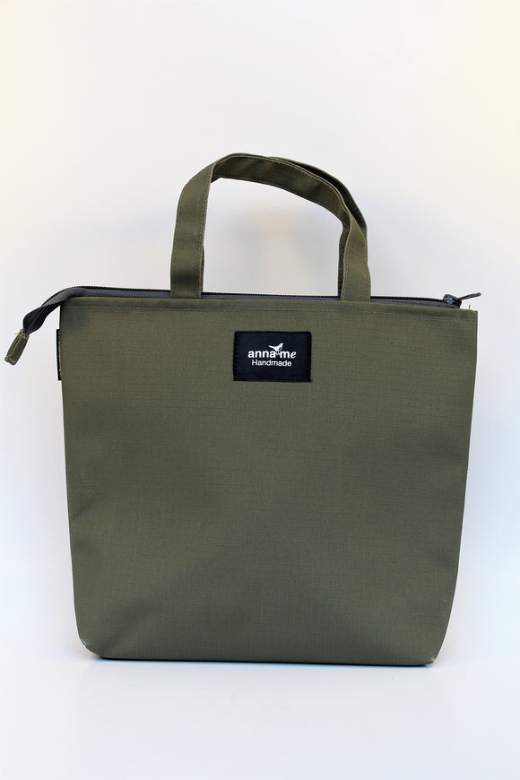 Ripstop Khaki Lunch Bag