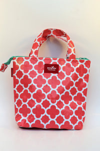 Coral Lunch Bag
