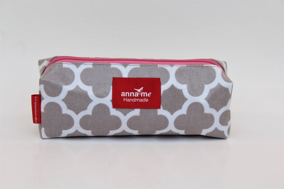 Grey Box Pencil Bag