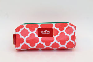 Coral Box Pencil Bag