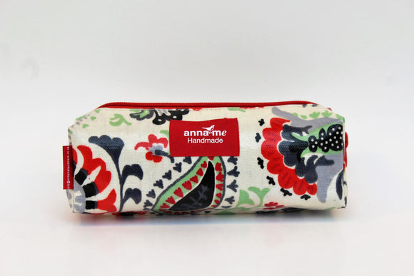 Floral Medley Box Pencil Bag