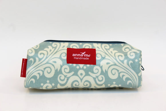 Faded Grey Box Pencil Bag