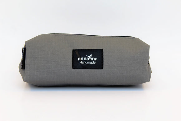 Ripstop Grey Box Pencil Bag