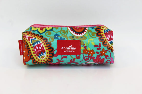 Paisley Box Pencil Bag