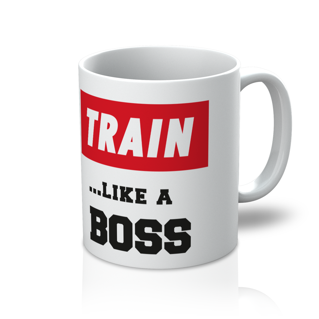 Train Like A Boss Mug