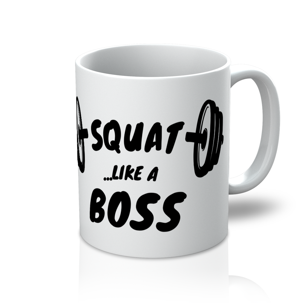 Squat Like A Boss Mug