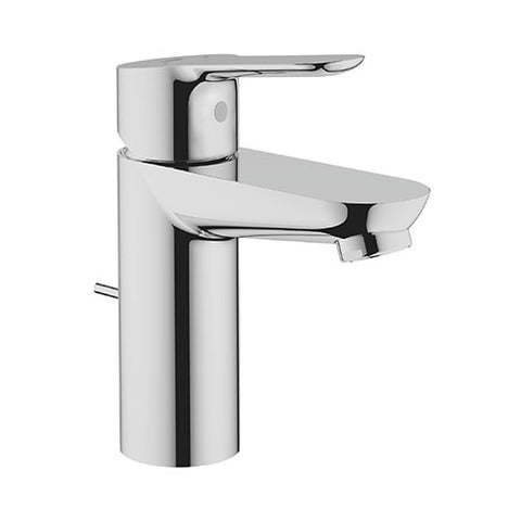BauEdge Basin Mixer with Pop-Up Waste