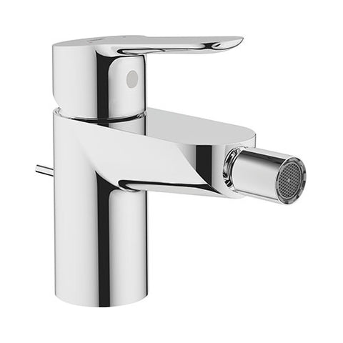 BauEdge Bidet Mixer with Pop-Up Waste