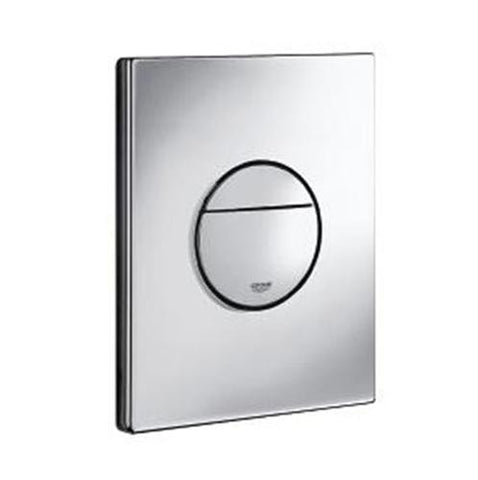 Nova Cosmopolitan Dual Flush Actuation Plate - Chrome