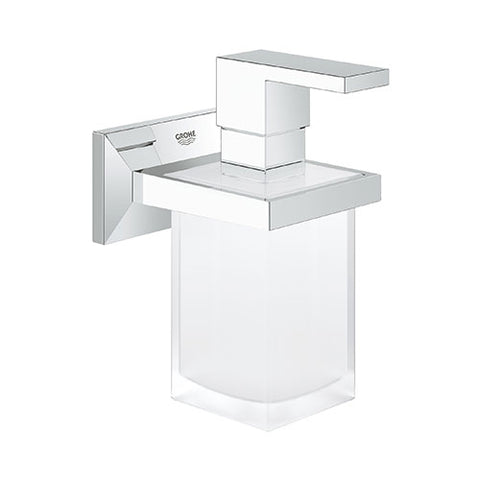 Allure Brilliant Holder And Soap Dispenser