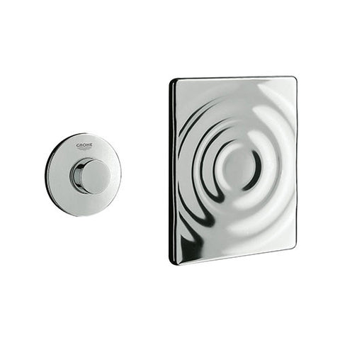 Air Button Single Flush