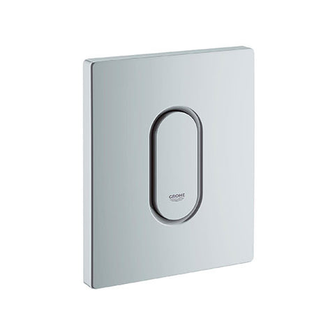 Arena Cosmo Urinal Flush Plate - Matt Chrome