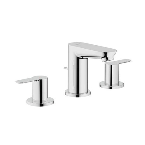BauEdge 3 Hole Basin Mixer