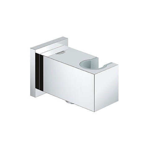 Euphoria Cube Shower Outlet Elbow with Wall Holder