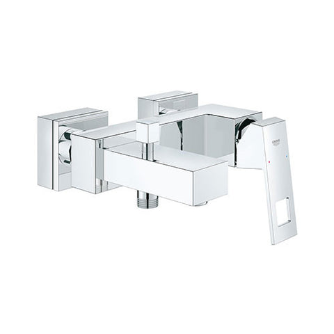 Eurocube Single Lever Bath Mixer with Diverter
