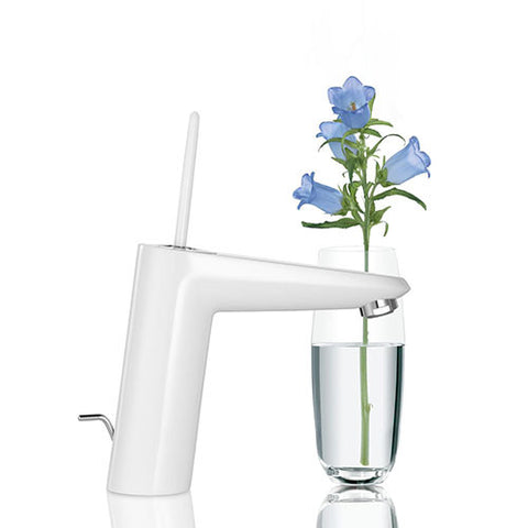 Eurodisc Joy Single Lever Bathroom Mixer - M-Size (Moon White)