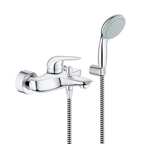 Eurostyle Single Lever Bath / Shower Mixer with Hand Shower
