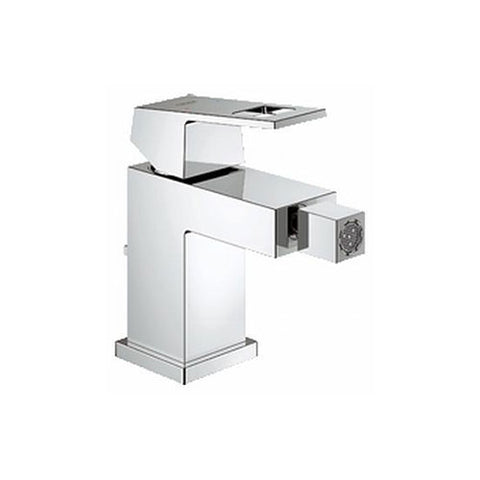 Eurocube Bidet Mixer with Pop-Up Waste
