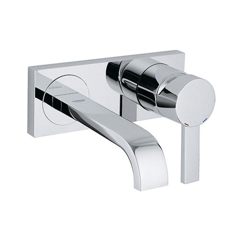 Allure Wall Mounted Basin Mixer with Spout - Trim Set