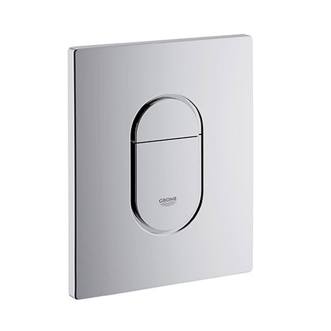 Arena Cosmo Urinal Flush Plate - Chrome