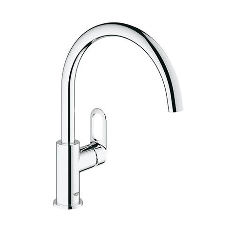 BauLoop Sink Mixer with Swivel Spout