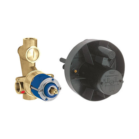 Universal Concealed Body for Bath/Shower Mixer with Diverter