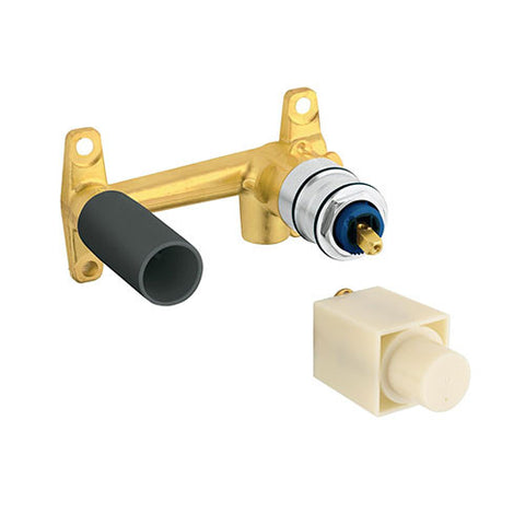 Concealed Body for 2 Hole Single Lever Basin Mixer - Square