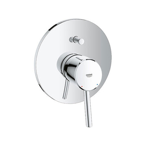 Concetto Diverter Bath / Shower Mixer Trim Set