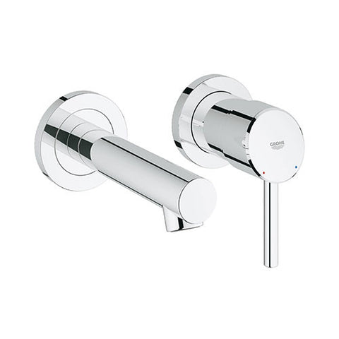 Concetto Single Lever 2 Hole Basin Mixer Trim Set