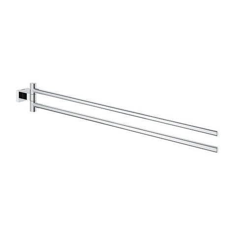 Essentials Cube Two Arm Towel Bar