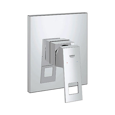Eurocube Concealed Shower or Bath Mixer Trim Set
